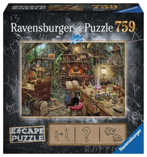ESCAPE PUZZLE 03 - Puzzle 759P - La Cuisine des Sorciers