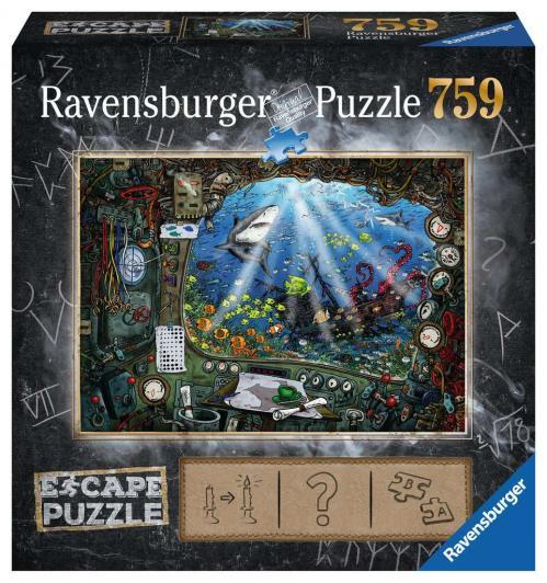 ESCAPE PUZZLE 04 - Puzzle 759P - Sous l'eau