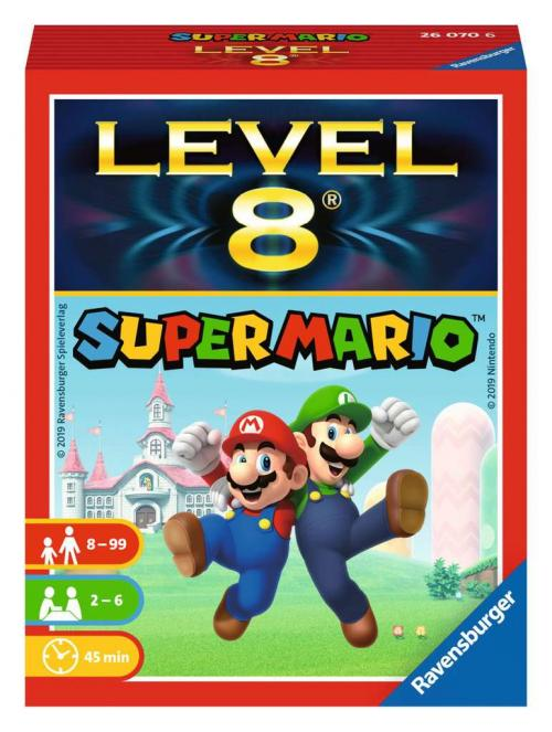 NINTENDO - Super Mario Level 8 - Jeu de famille