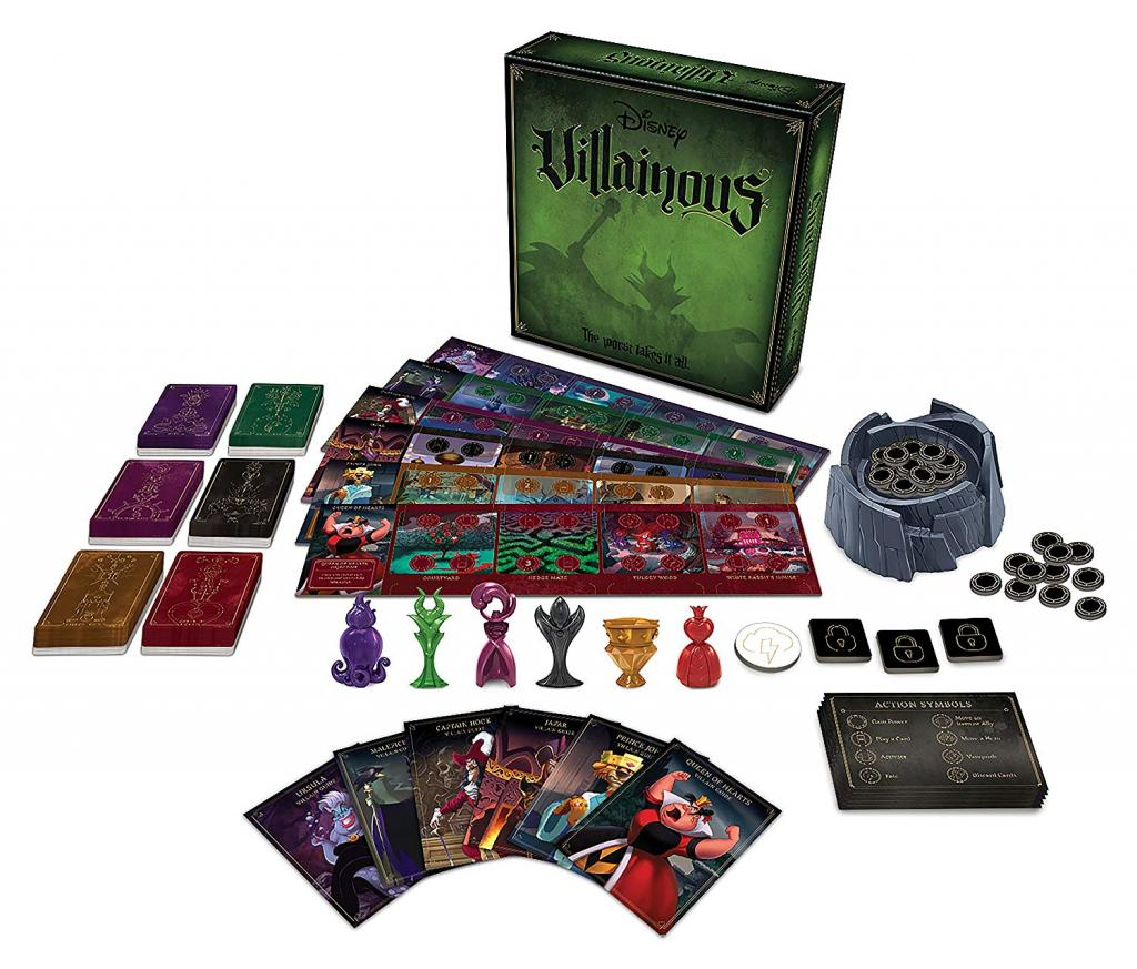 DISNEY Villainous - Board Game - The Worst Takes It All 'Version UK'_2