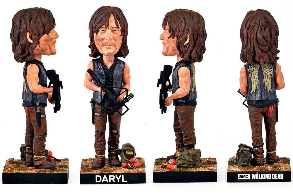 THE WALKING DEAD - Daryl Dixon Bobblehead - 20cm 'Royal Bobbles'