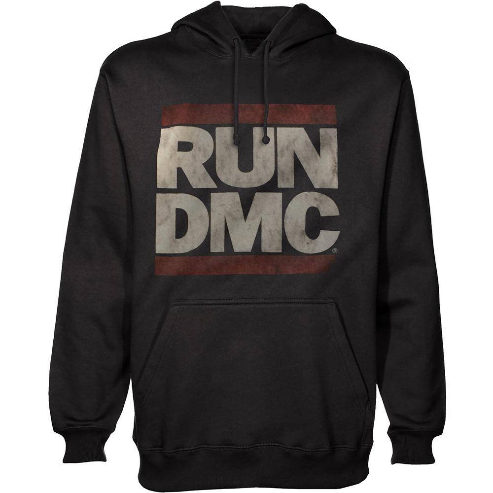 RUN DMC - Sweat Hoodies Logo (L)