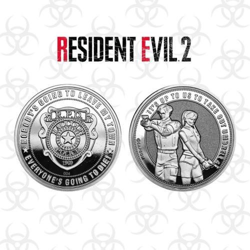 RESIDENT EVIL 2 - Pièce de collection édition limitée