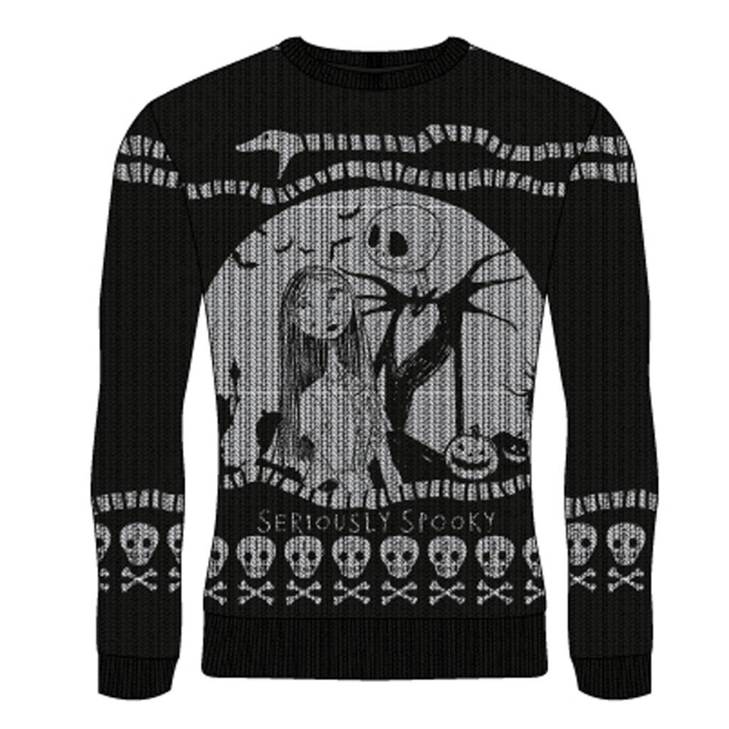 NIGHTMARE BEFORE CHRISTMAS - Seriously Spooky - Christmas Jumper (M)_1