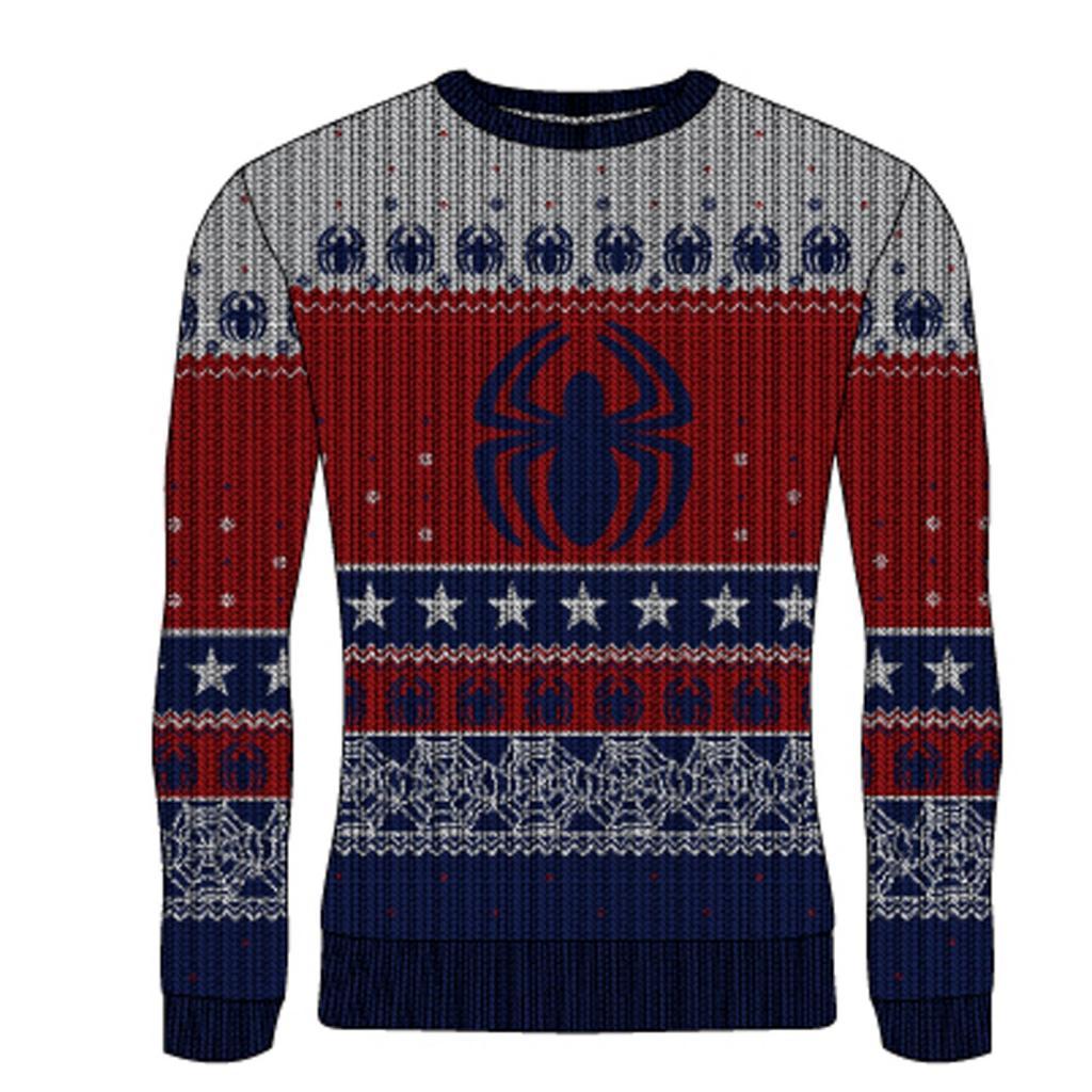 MARVEL - Spider-Man - Christmas Jumper (S)