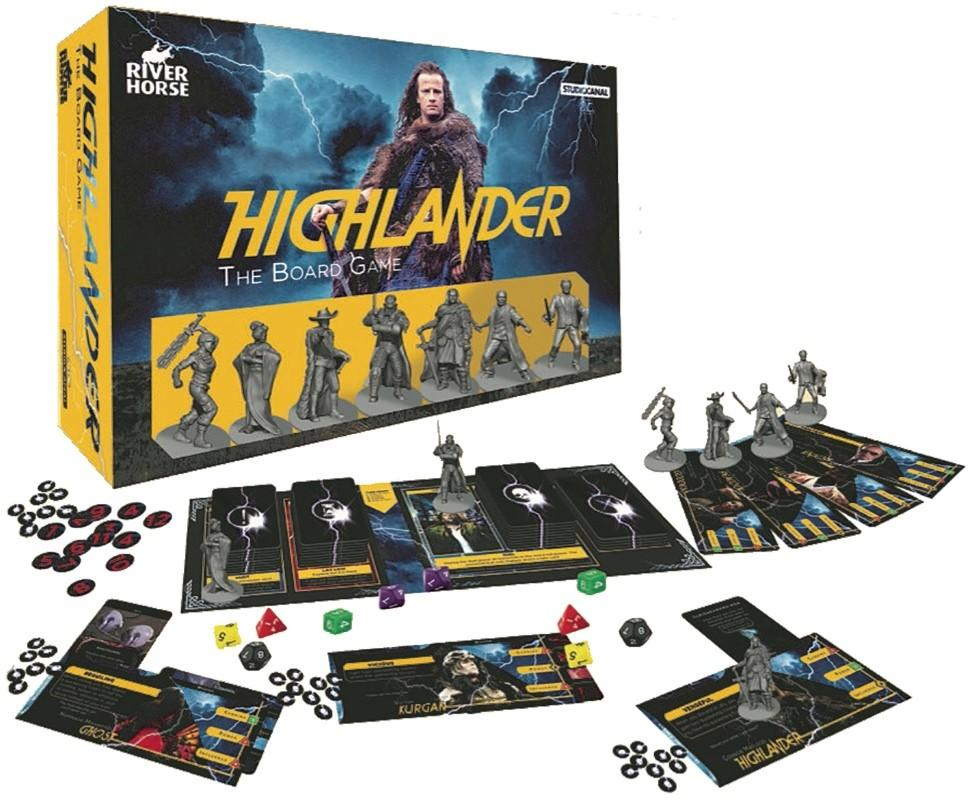 HIGHLANDER - Board Game - 'Version Anglaise'