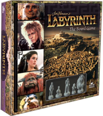 LABYRINTH - Board Game - 'Version Anglaise'