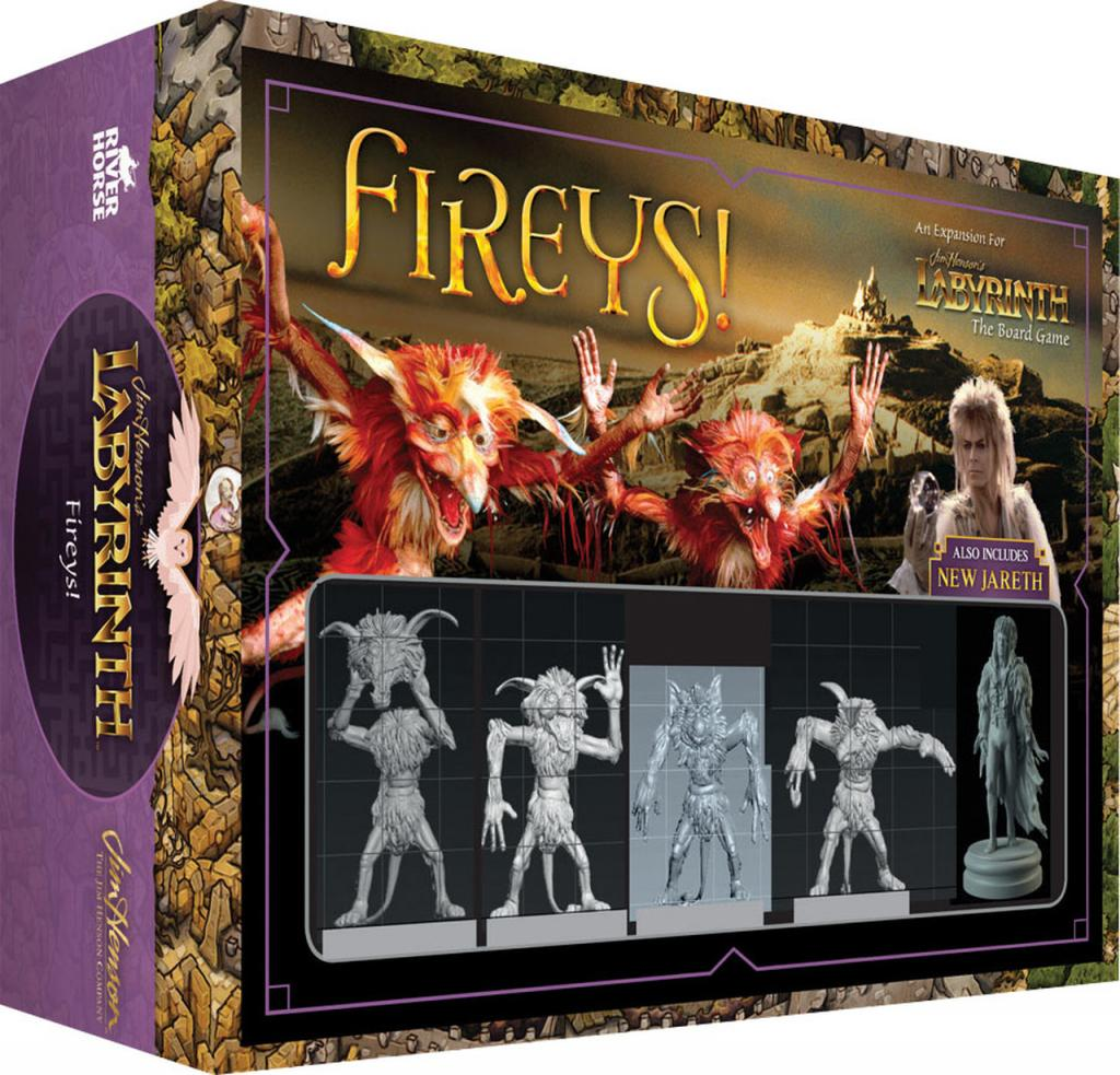 LABYRINTH - Fireys! Expansion - Board Game - 'Version Anglaise'