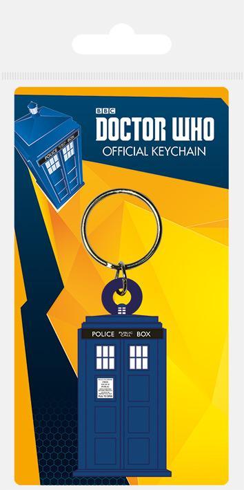 DOCTOR WHO - Porte-Clés Caoutchouc - Tardis
