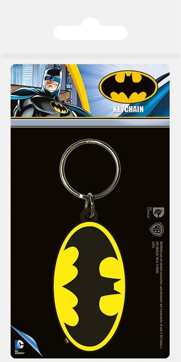 DC COMICS - Batman Symbol - Porte-clés en caoutchouc