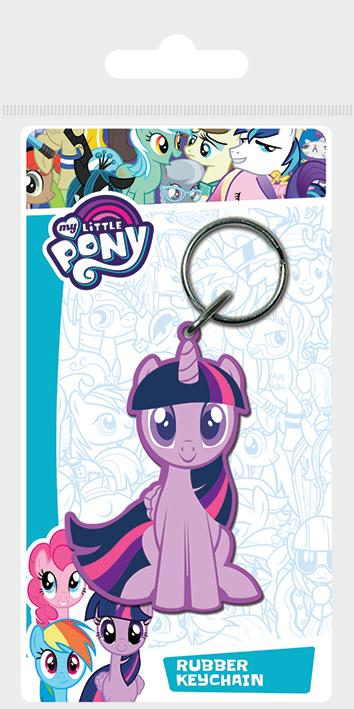 MY LITTLE PONY - Porte-Clés Caoutchouc - Twilight Sparkle