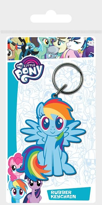 MY LITTLE PONY - Porte-Clés Caoutchouc - Rainbow Dash