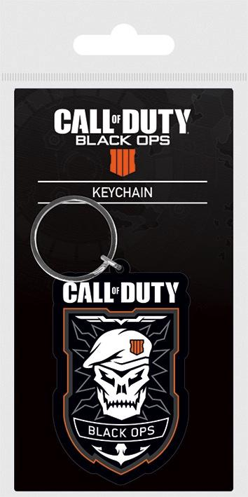 CALL OF DUTY BLACK OPS 4 - Porte-Clés Caoutchouc - Patch