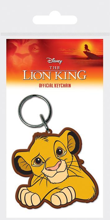 DISNEY - Porte-Clés Caoutchouc - The Lion King - Simba