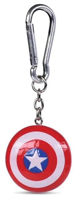 MARVEL - Captain America Shield - Porte-clés 3D