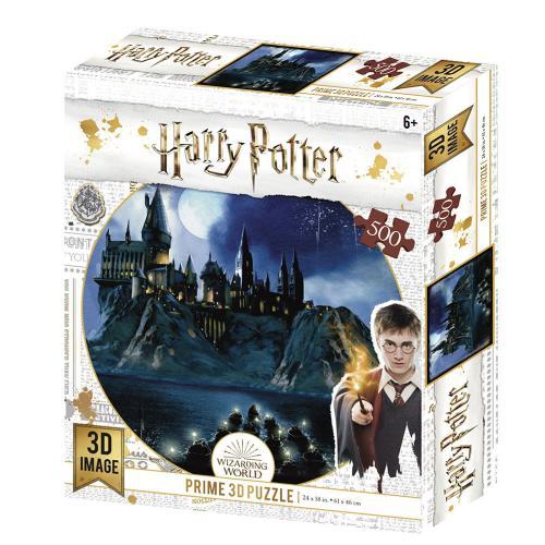HARRY POTTER - Hogwarts - Puzzle lenticulaire 3D 500P '61x46cm'