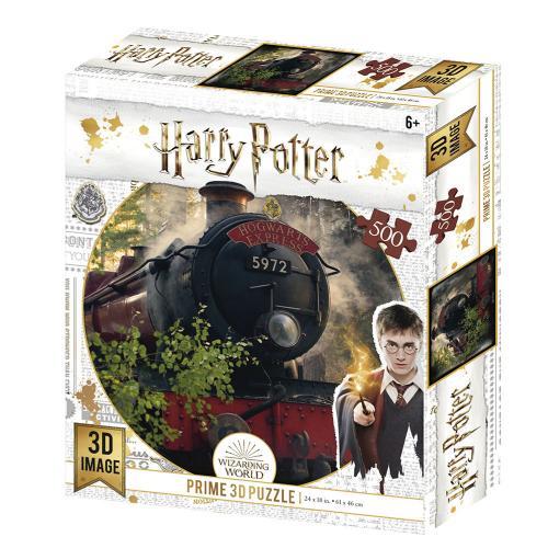 HARRY POTTER - Hogwarts Exp. - Puzzle lenticulaire 3D 500P '61x46cm'