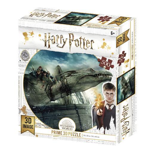 HARRY POTTER - Dragon - Puzzle lenticulaire 3D 500P '61x46cm'
