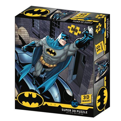 BATMAN - Batmobile - Puzzle lenticulaire 3D 500P '61x46cm'
