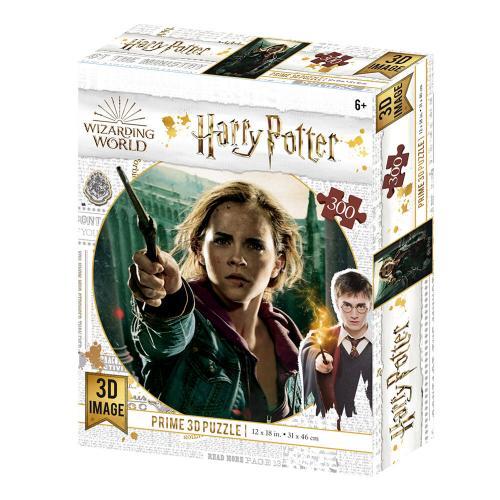 HARRY POTTER - Hermione - Puzzle lenticulaire 3D 300P '46x31cm'