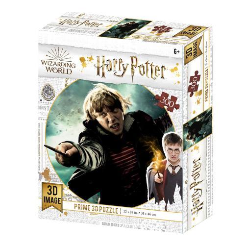 HARRY POTTER - Ron - Puzzle lenticulaire 3D 300P '46x31cm'