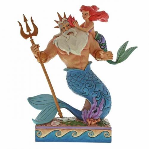 DISNEY Traditions - Ariel & Triton - 25cm