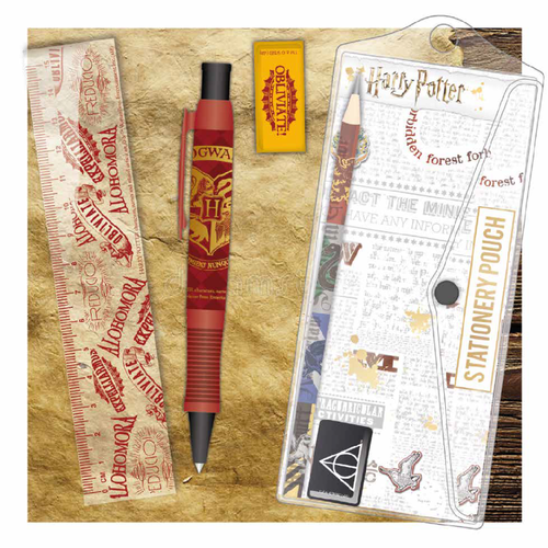 HARRY POTTER - Set papeterie scolaire