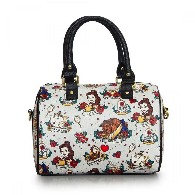 DISNEY - Sac Belle Tattoo AOP 'LoungeFly'_1