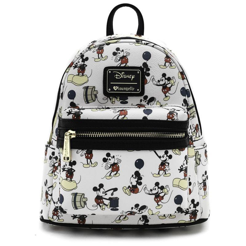 DISNEY - Mickey Pose Mini Backpack 'LoungeFly'