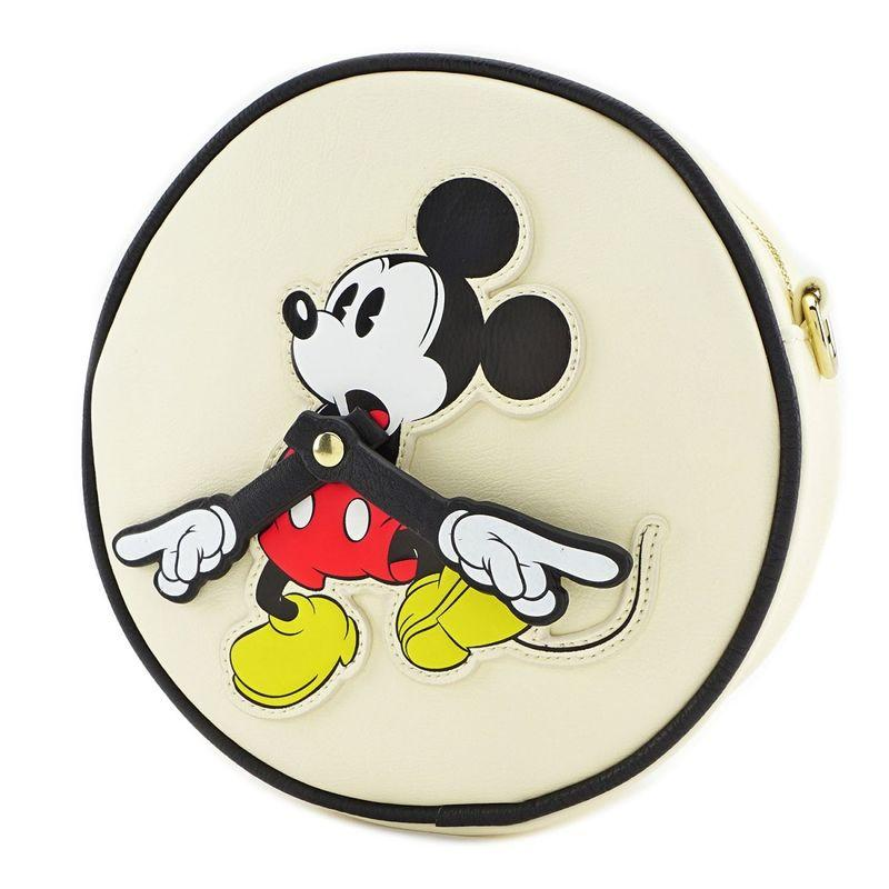 DISNEY - Mickey Clock Arms Xbody Bag 'LoungeFly'