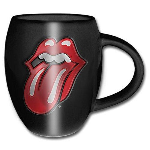 ROLLING STONES - Oval Embossed Mug 450 ml - Classic Tongue_1