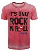 ROLLING STONES - T-Shirt BurnOut - It's Only Rock (L)