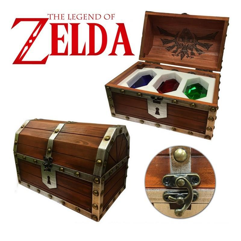 ZELDA - Coffret 3 Presse-Papiers (Reproduction)