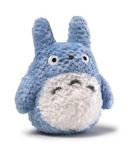 STUDIO GHIBLI - Peluche Fluffy Medium Totoro - 14cm