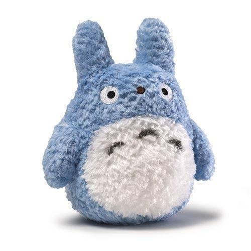 STUDIO GHIBLI - Peluche Fluffy Medium Totoro - 22cm