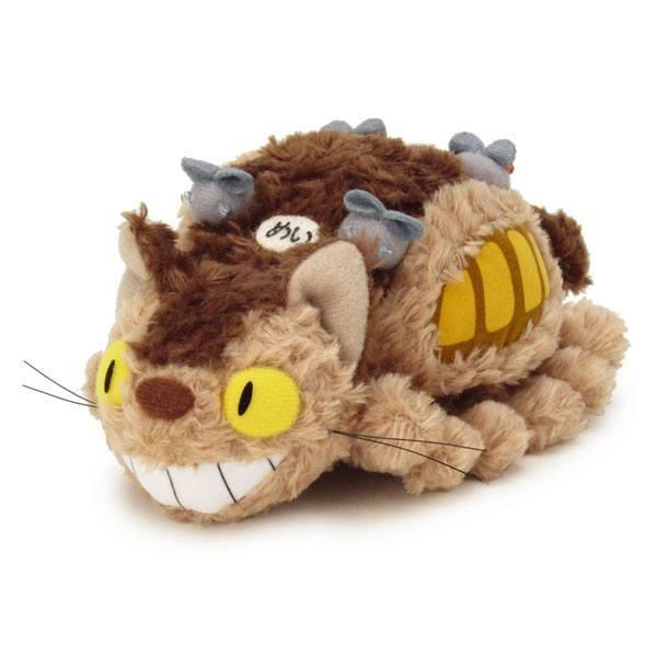 STUDIO GHIBLI - Peluche Medium Fluffy Cat Bus - 26 cm