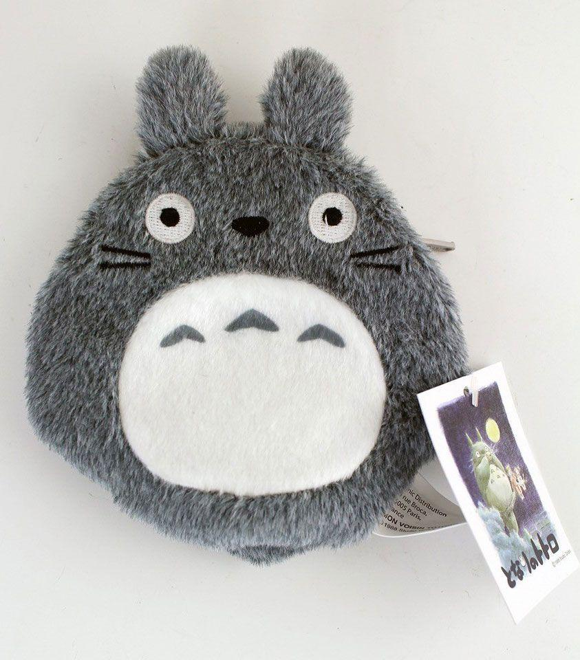 STUDIO GHIBLI - Porte-Monnaie Peluche Totoro Gris - 12 cm
