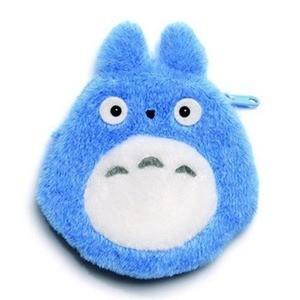 STUDIO GHIBLI - Porte-Monnaie Peluche Totoro Bleu - 12 cm