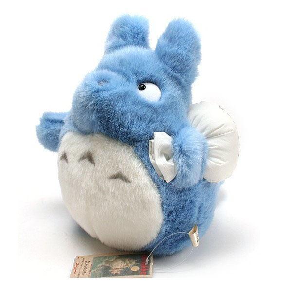 STUDIO GHIBLI - Peluche Totoro Bleu - 25 cm
