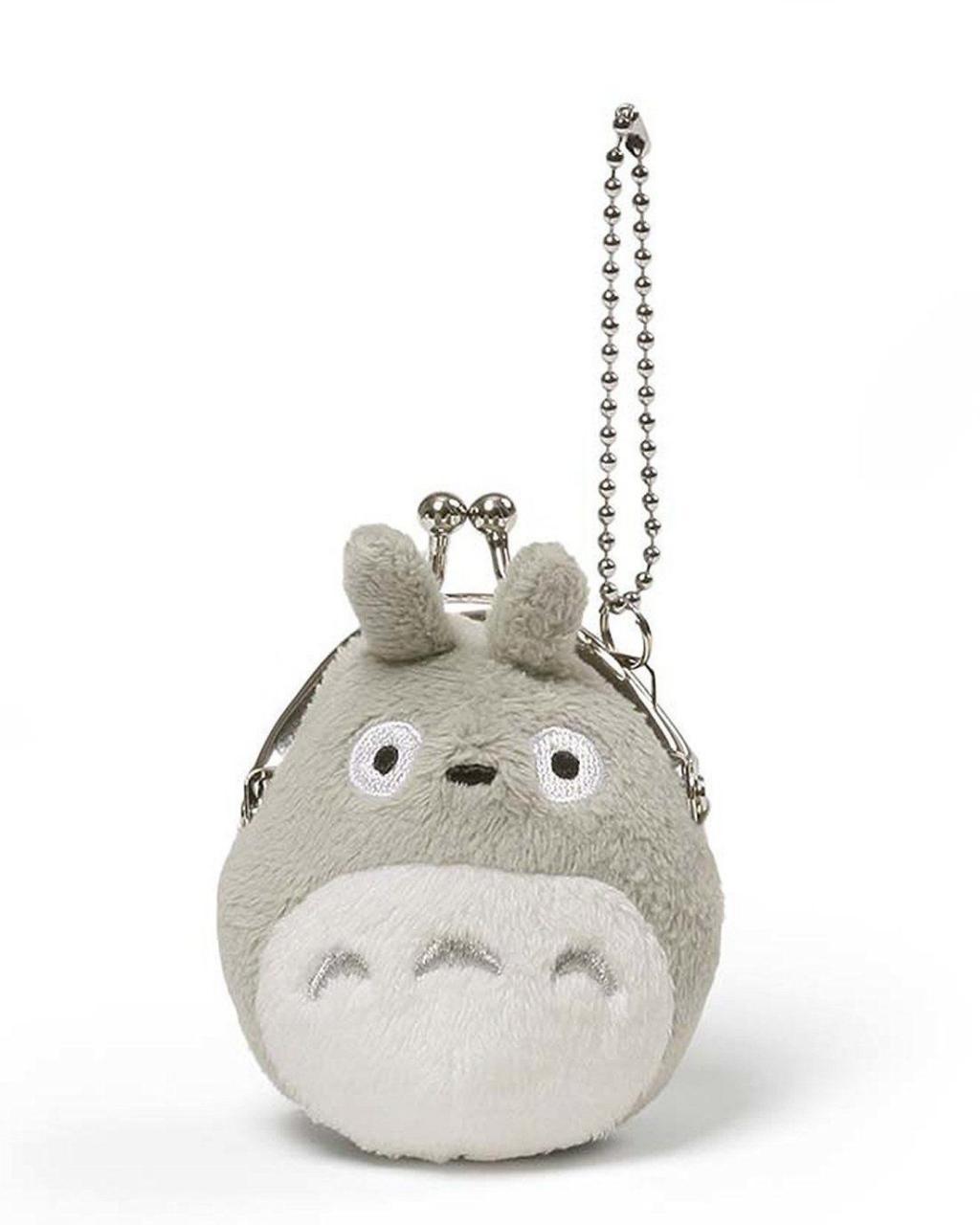 STUDIO GHIBLI - Porte-Monnaie Peluche Mini Totoro - 8 cm