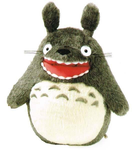 STUDIO GHIBLI - Peluche Big Totoro Rugissant - 28cm