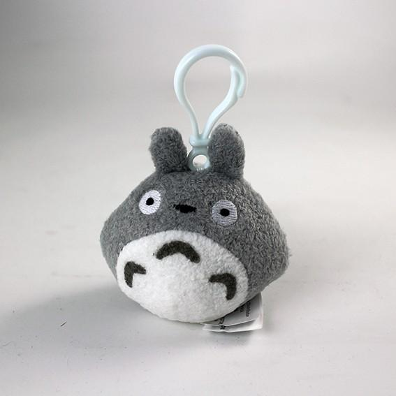 STUDIO GHIBLI - Porte-Clés Peluche Totoro Gris - 8 cm