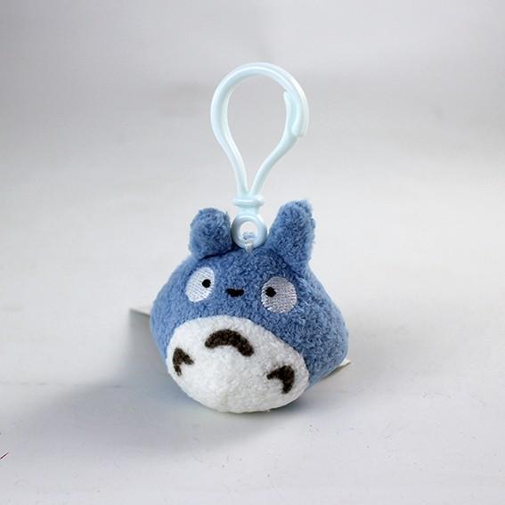 STUDIO GHIBLI - Porte-Clés Peluche Totoro Bleu - 8 cm