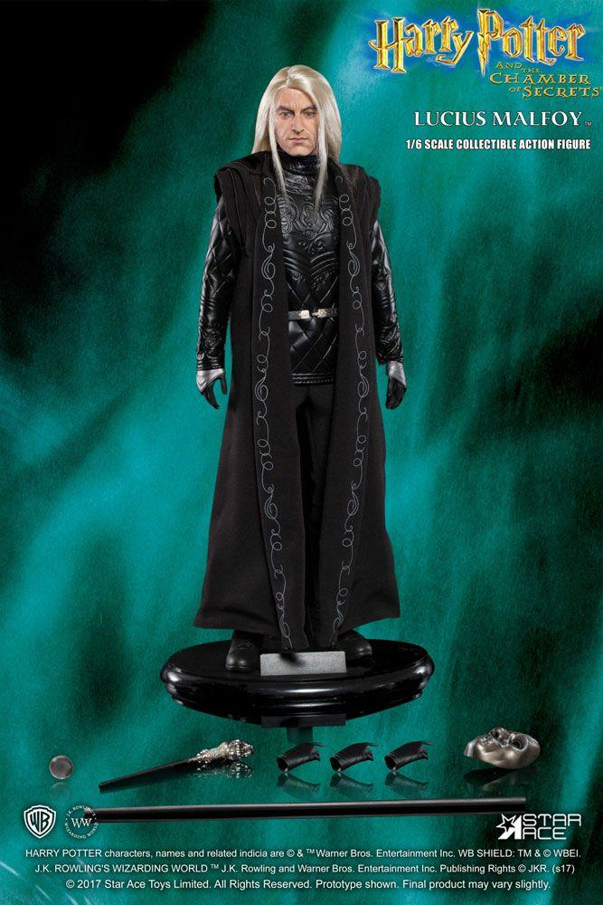 HARRY POTTER - Movie Figures 1/6 - Lucius Malfoy Chamber of... - 30cm