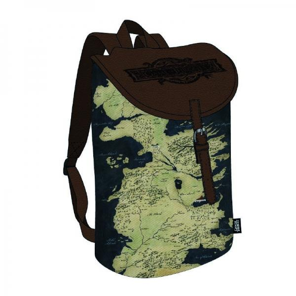 GAME OF THRONES - Backpack - Westeros Map