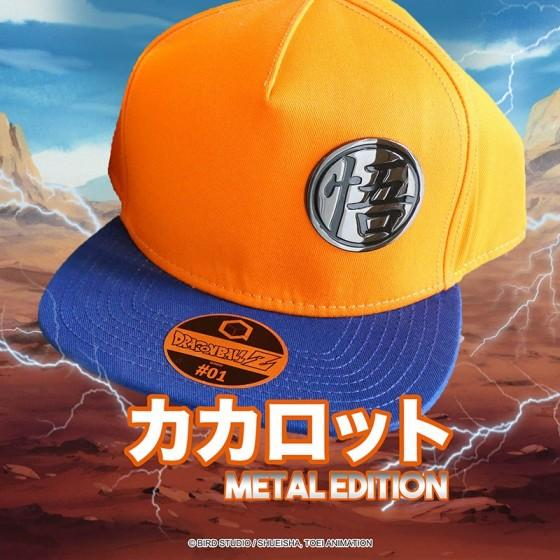 DRAGON BALL - Casquette METAL EDITION - Goku