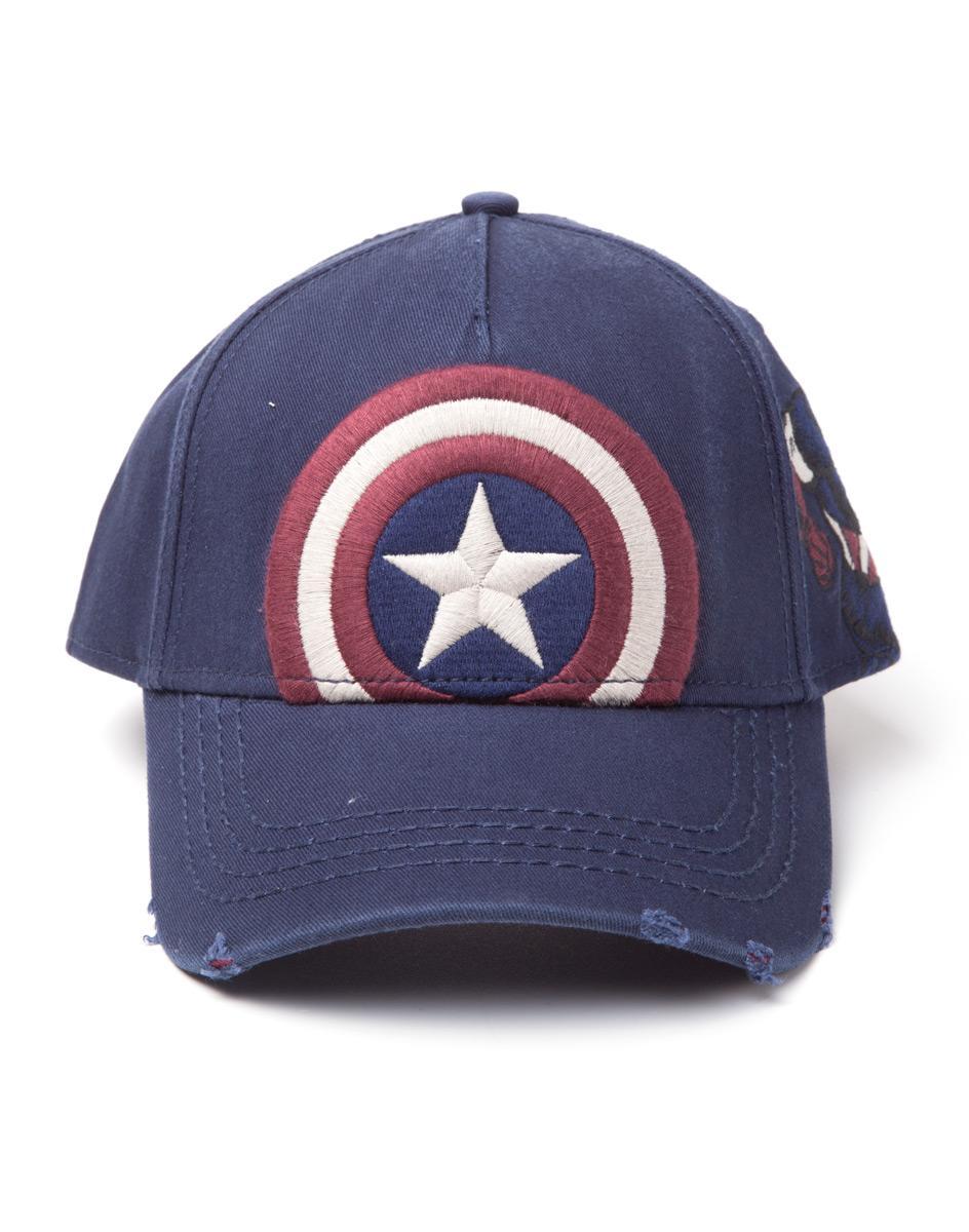 MARVEL - Captain America Vintage Adjustable Cap