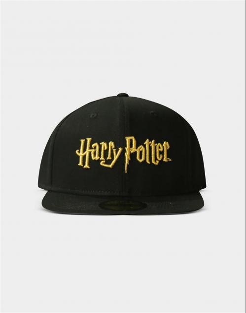 HARRY POTTER - Logo Gold - Casquette Snapback
