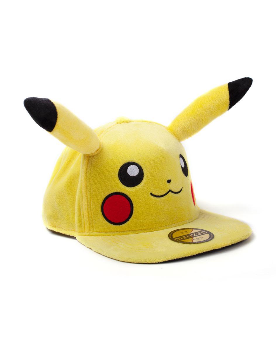 POKEMON - Pikachu Casquette Premium Peluche_2