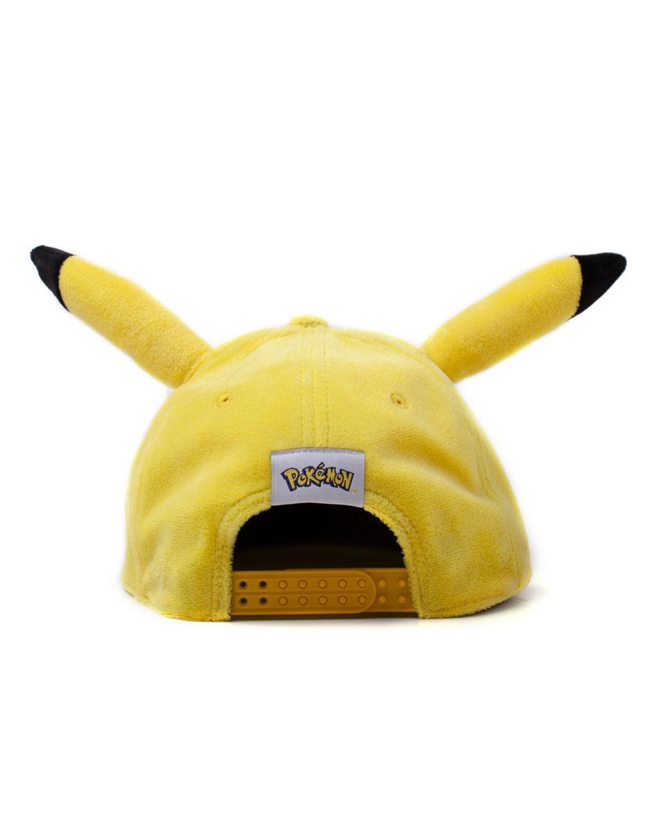 POKEMON - Pikachu Casquette Premium Peluche_3
